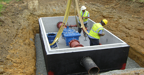 Sewer system construction