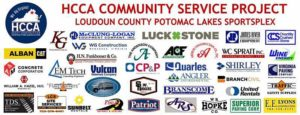 HCCA Community Service Project Loudon County Potomac lakes Sportsplex