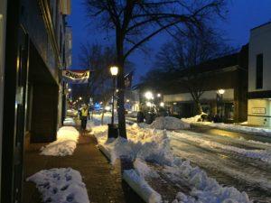 Caroline Street in Winter