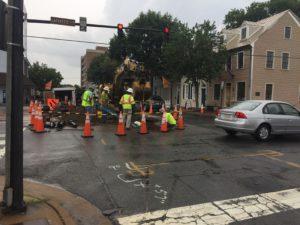 Lafayette Road Construction