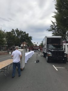 WC Spratt, Inc. supporting community event Fredericksburg VA