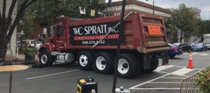 WC Spratt, Inc. supporting community event downtown fredericksbug va